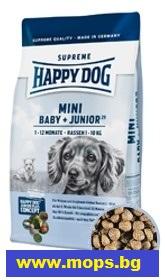 гранули за мопс Happy Dog